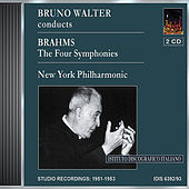 Brahms: Symphonies Nos. 1-4 (Walter, New York Philharmonic) (1951-53) by Bruno Walter