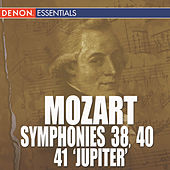 Mozart Symphonies 38, 40 & 41 by Various Artists