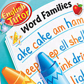 English Tutor: Word Families by Kidzup