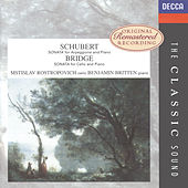 Schubert: Sonata for Arpeggione & Piano / Bridge: Sonata for Cello & Piano etc. by Mstislav Rostropovich