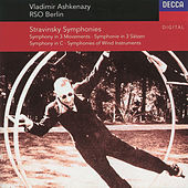 Stravinsky: Symphony in C/Symphony in 3 Movements/Symphonies of Winds by Radio-Symphonie-Orchester Berlin