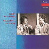 Brahms: Violin Sonatas Nos.1-3 by Pierre Amoyal
