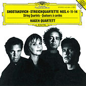 Shostakovich: String Quartets Nos.4, 11 & 14 by Hagen Quartett