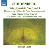 Schoenberg: String Quartets Nos. 3 and 4 - Phantasy by Various Artists