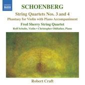 Schoenberg: String Quartets Nos. 3 and 4 - Phantasy by Various Artists