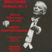 Bruckner : Symphony No. 4 (1944) by Berliner Philharmoniker