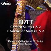Bizet, G.: Carmen Suites Nos. 1, 2 / L'Arlesienne Suites Nos. 1, 2 by Janos Sandor