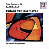 Beethoven: String Quartets Vol.1 by Alexander String Quartet