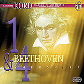 Beethoven: Symphonies Nos. 1 and 4 / Overture to Egmont by Kazimierz Kord