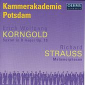 Strauss, R.: Metamorphosen / Korngold: String Sextet in D Major (Arr. for String Orchestra) by Peter Rundel