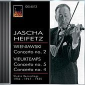 Wieniawski, H.: Violin Concerto No. 2 / Vieuxtemps, H.: Violin Concertos Nos. 4 and 5 (Heifetz) (1935, 1947, 1954) by Various Artists