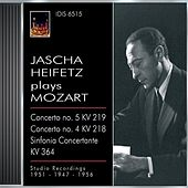 Mozart, W.A.: Violin Concertos Nos. 4 and 5 / Sinfonia Concertante, K. 364 (Jascha Heiftez Plays Mozart, Vol. 1) (1949, 1951, 1956) by Various Artists