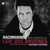 Rachmaninov: Piano Concertos No. 3 & No. 4 by Antonio Pappano