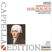 Haydn: Symphonies Nos. 66, 90 & 91 by Hans-Martin Linde