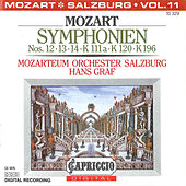 Mozart: Symphonien Nos. 12, 13, 14, K. 111a, K. 120 and K. 196 by Hans Graf