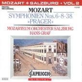 Mozart: Symphonien Nos. 6, 8, 38,