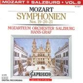 Mozart: Symphonien Nos. 19, 20, 21 by Hans Graf