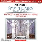 Mozart: Symphonien Nos. 33, 45, 46, 47 by Hans Graf