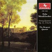Mendelssohn, Felix: String Quartets Nos. 1 and 2 / Capriccio in E Minor / Fugue in E Flat Major / Scherzo in A Minor by Bergonzi Quartet