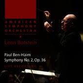 Ben-Haim: Symphony No. 2 by American Symphony Orchestra