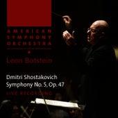 Shostakovich: Symphony No. 5 in D Minor, Op. 47 by American Symphony Orchestra