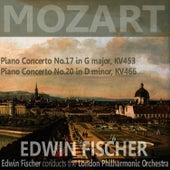 Mozart: Piano Concerto No. 17 in G Major, Piano Concerto No. 20 in D Minor by London Philharmonic Orchestra