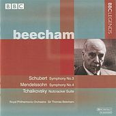 Beecham – Schubert: Symphony No. 3 – Mendelssohn: Symphony No. 4 - Tchaikovsky: The Nutcracker Suite (1958) by Thomas Beecham