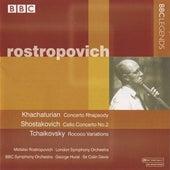 Rostropovich - Khachaturian, Shostakovich, Tchaikovsky by Various Artists