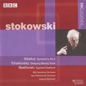 Stokowski - Sibelius: Symphony No. 2 - Tchaikovsky: Sleeping Beauty Suite - Beethoven: Egmont Overture by Leopold Stokowski