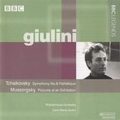 Giulini - Tchaikovsky: Symphony No. 6 - Mussorgsky: Pictures at an Exhibition by Carlo Maria Giulini