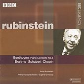 Rubinstein - Beethoven: Piano Concerto No. 5 - Brahms, Schubert, Chopin by Various Artists