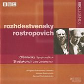 Rozhdestvensky & Rostropovich - Tchaikovsky: Symphony No. 4 - Shostakovich: Cello Concerto No. 1 by Various Artists