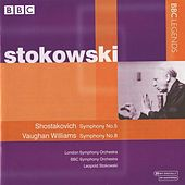 Stokowski - Shostakovich: Symphony No. 5 - Vaughan Williams: Symphony No. 8 by Leopold Stokowski