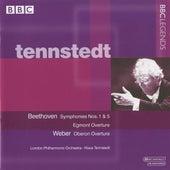 Tennstedt - Beethoven: Symphonies Nos. 1 & 5 - Egmont Overture - Weber: Oberon Overture by Klaus Tennstedt