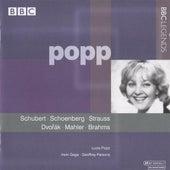 Popp - Schubert, Schoenberg, Strauss, Dvorak, Mahler, Brahms (1980, 1983) by Various Artists