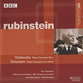 Rubinstein - Tchaikovsky: Piano Concerto No. 1 - Schumann: Piano Concerto by Various Artists