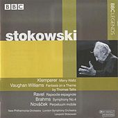 Stokowski - Klemperer, Vaughan Williams, Ravel, Brahms, Novacek by Leopold Stokowski