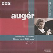 Auger - Schumann, Schubert, Schoenberg, R. Strauss (1987) by Various Artists
