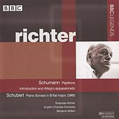 Richter - Schumann: Papillons - Introduction and Allegro appassionato - Schubert: Piano Sonata No. 21 by Sviatoslav Richter
