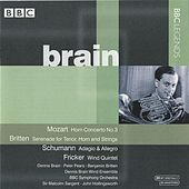 Brain - Mozart, Britten, Schumann, Milhaud, Fricker by Various Artists