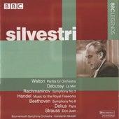Silvestri  - Walton, Debussy, Rachmaninov, Handel, Beethoven, Delius, Strauss (1965-1967) by Constantin Silvestri
