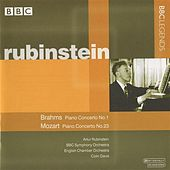 Rubinstein - Brahms: Piano Concerto No. 1 - Mozart: Piano Concerto No. 23 by Various Artists