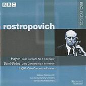 Rostropovich - Haydn: Cello Concerto No. 1 - Saint-Saens: Cello Concerto No. 1 - Elgar: Cello Concerto by Various Artists
