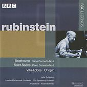 Rubinstein - Beethoven, Saint-Saens, Villa-Lobos, Chopin by Various Artists
