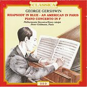 George Gershwin : Rhapsody in Blue, An American in Paris, Piano Concerto in F by Philharmonia Slavonica