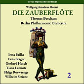 Mozart: The Magic Flute (Die Zauberflöte), Vol. 2 by Berlin Philharmonic Orchestra