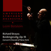 Strauss: Bardengesang, Op. 55 by American Symphony Orchestra