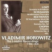 The London Recordings (1932-1936) by Vladimir Horowitz
