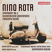 Rota: Symphony No. 3 - Divertimento concertante - Concerto soirée by Various Artists