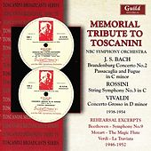 Toscanini - Memorial Tribute 1938-1954 by Various Artists